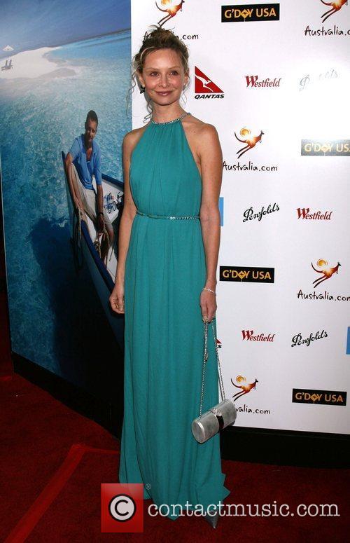 Calista Flockhart G'Day USA  Australia.com Black Tie...