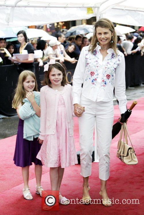 Antonia Kidman and her children The Australian premiere...