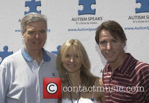 Susan Murry, Allen Murry and guest Autism Speaks...