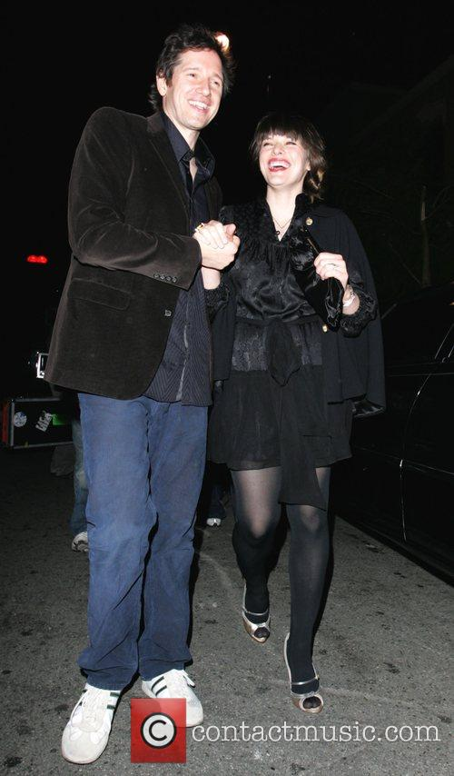 Milla Jovovich and her fiance Paul W.S. Anderson...