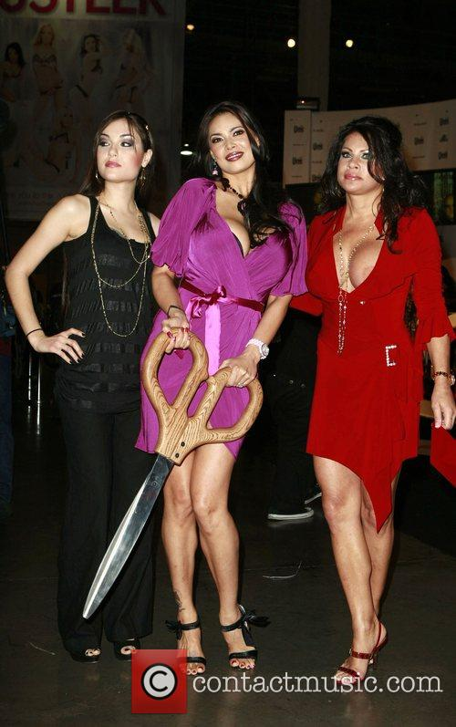 Sasha Grey, Tera Patrick, Teri Weigel  at...