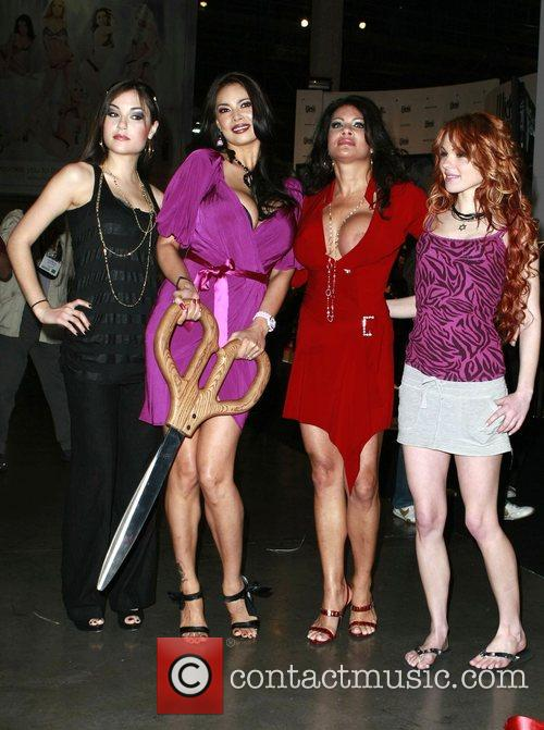 Sasha Grey, Tera Patrick, Teri Weigel and Jayme...