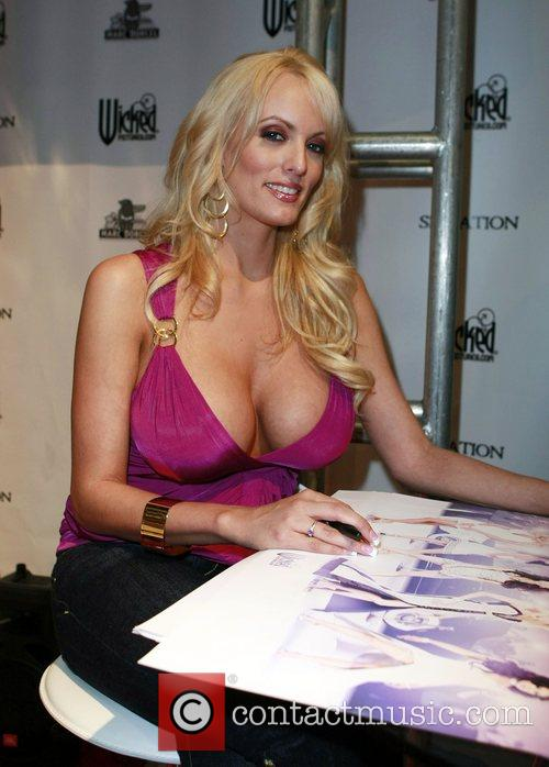 Stormy Daniels at the opening ceremony of the...