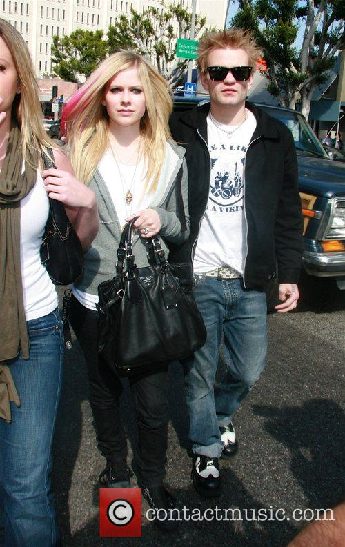 Avril Lavigne and Her Husband Deryck Whibley 8