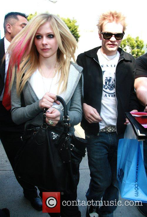 Avril Lavigne and Her Husband Deryck Whibley 5