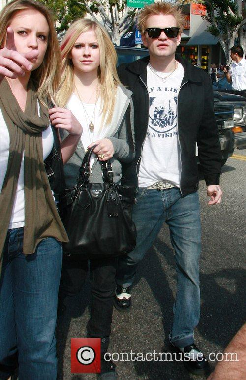 Avril Lavigne and Her Husband Deryck Whibley 6