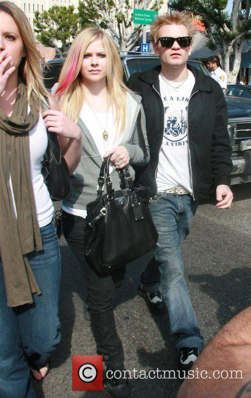 Avril Lavigne and Her Husband Deryck Whibley 7