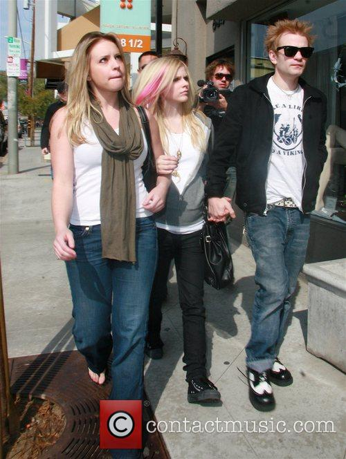 Avril Lavigne and Her Husband Deryck Whibley 3
