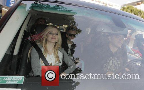 Avril Lavigne and Her Husband Deryck Whibley 10