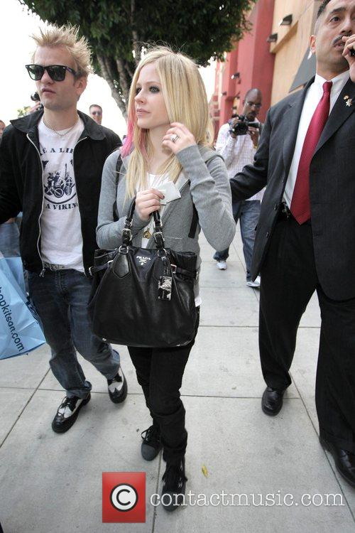 Avril Lavigne and Her Husband Deryck Whibley 1