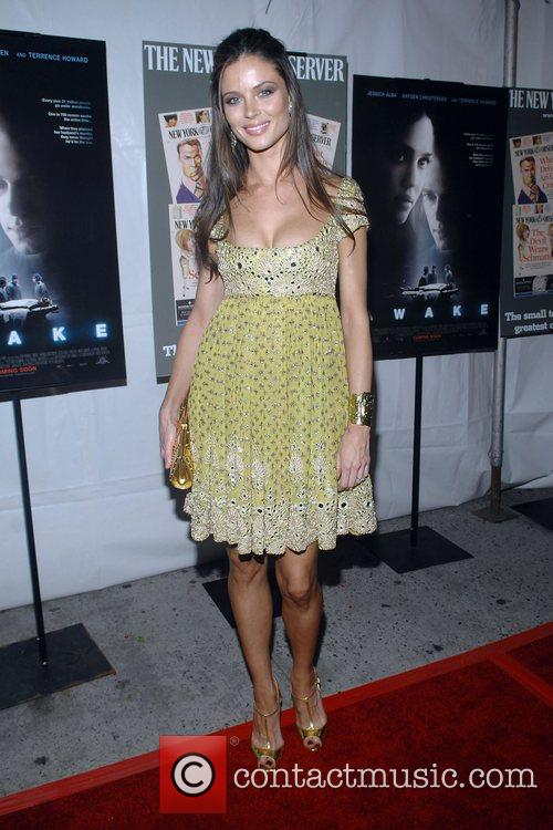 Georgina Chapman Premiere of 'Awake' held at the...