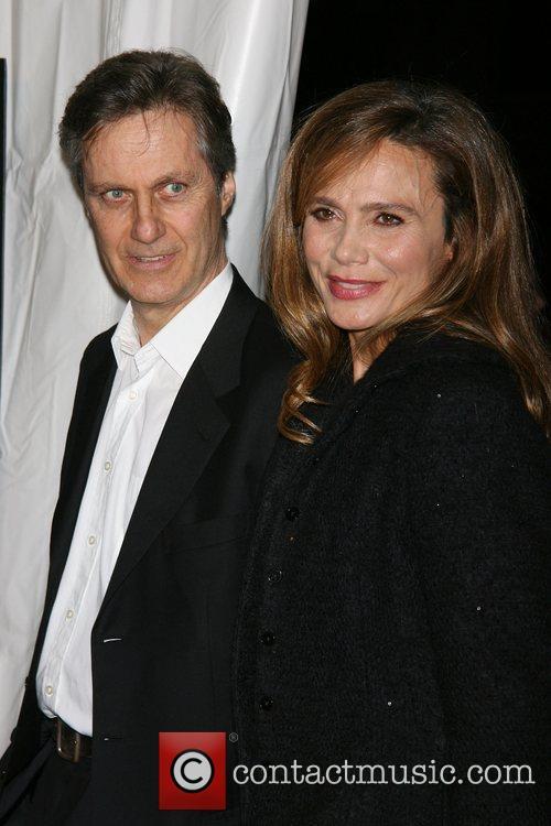 Lasse Hallstrom and Lena Olin 1