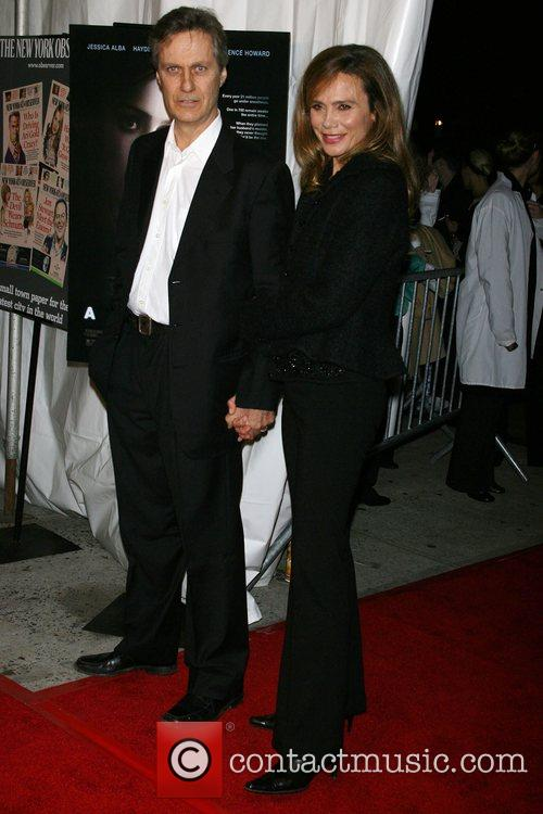 Lasse Hallstrom and Lena Olin 4