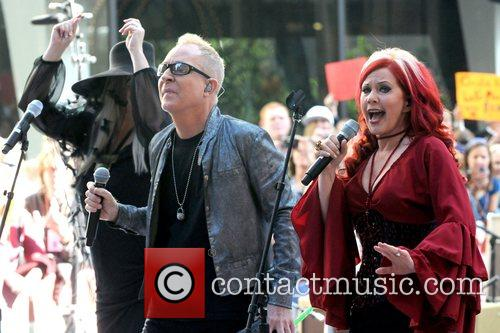 The B-52's perform live for the Today Show's...