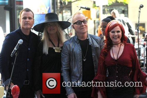 Keith Strickland, Cindy Wilson, Fred Schneider and Kate...
