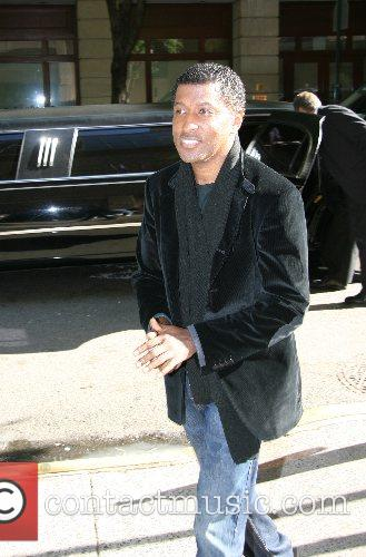 Kenneth 'Babyface' Edmonds arriving at ABC Studios after...