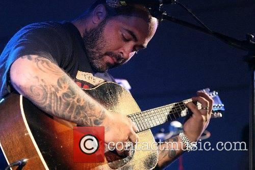 Aaron Lewis of Staind performs  'R Baby'...