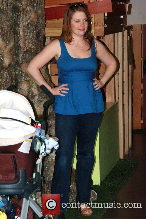 Melissa Joan Hart and her son Earth Day...