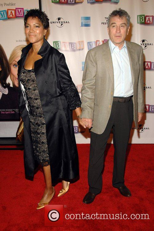 Grace Hightower and Robert Deniro 2