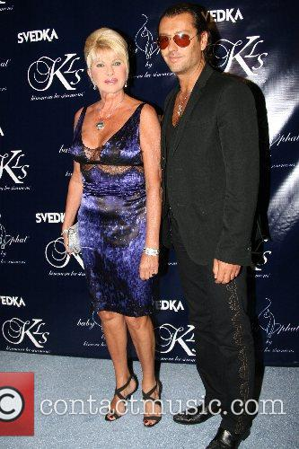 Ivana Trump and guest Mercedes-Benz Fashion Week New...