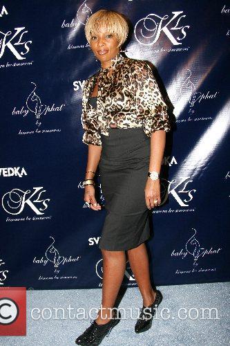 Mary J Blige Mercedes-Benz Fashion Week New York...