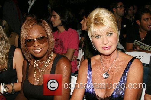 Star Jones Reynolds and Ivana Trump Mercedes-Benz Fashion...