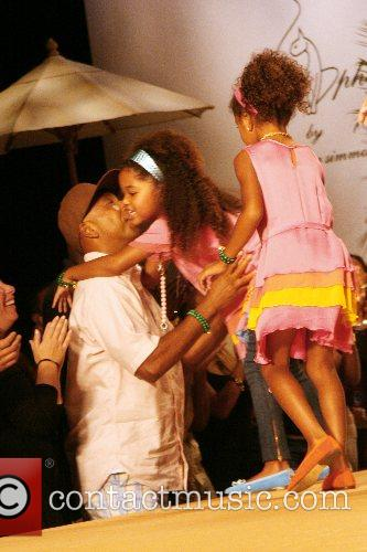 Russell Simmons and children 2