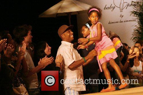 Russell Simmons and children 1