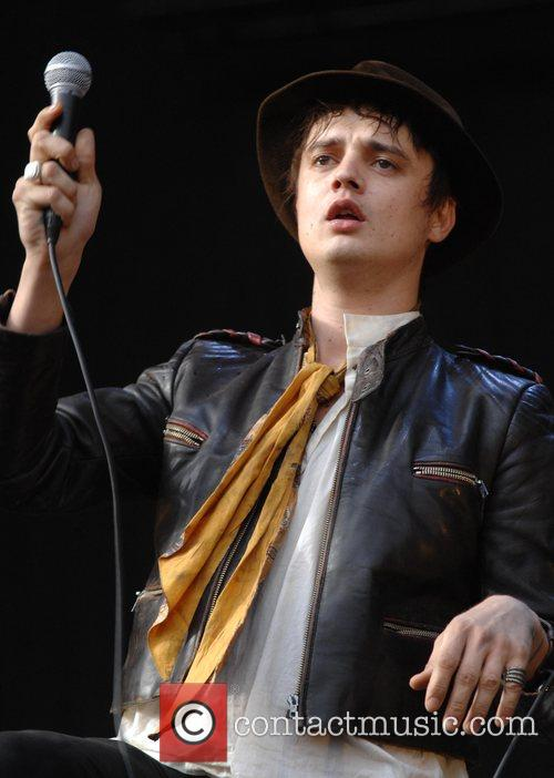 Pete Doherty performs with Babyshambles at V Festival,...