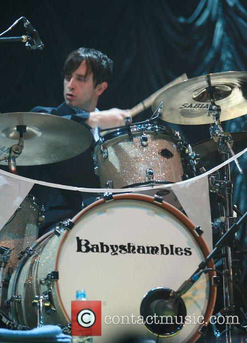Babyshambles performs at the Evening News Arena