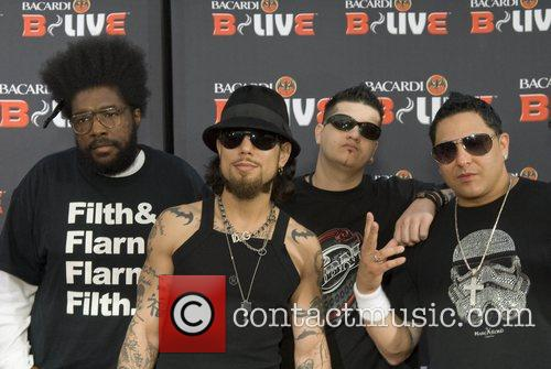 Questlove, Dave Navarro, DJ Slynkee and DJ Skribble...