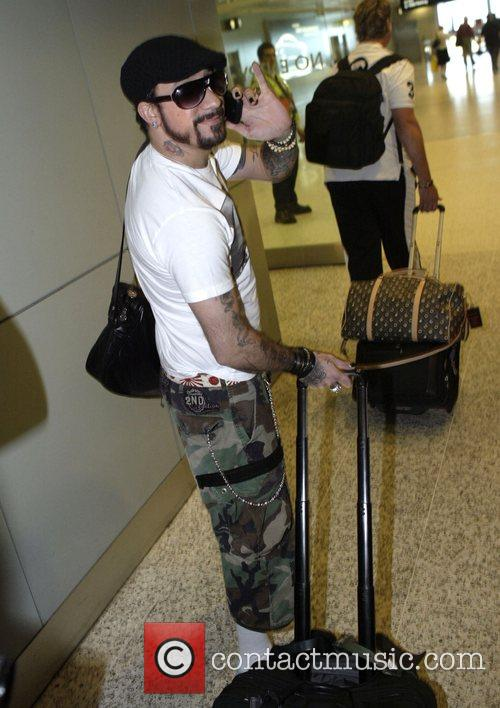 A. J. Mclean and Backstreet Boys 4