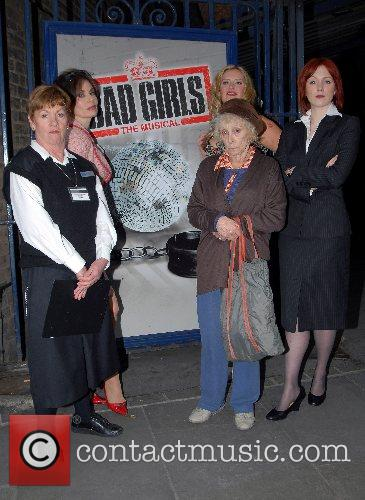 Cast Members 'Bad Girls' The Musical photocall to...