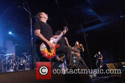 Bad Religion performing live at the Hordern Pavilion