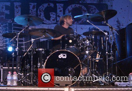 Brooks Wackerman Bad Religion performing live at the...