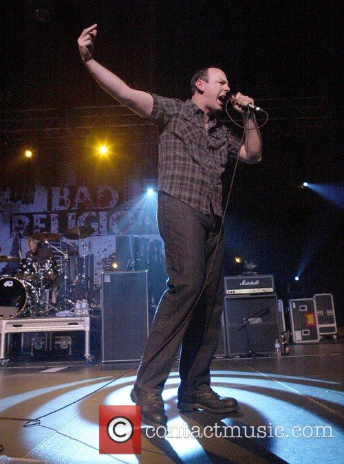 Greg Graffin Bad Religion performing live at the...