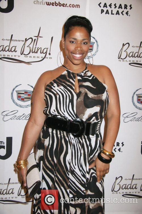 Nicole Gilbert, Caesars Palace, Chris Webber Foundation's Bada Bling Celebrity Event