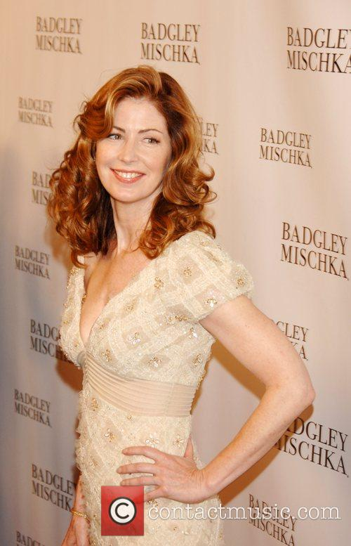 Attends the Badgley Mischka launch party at One...