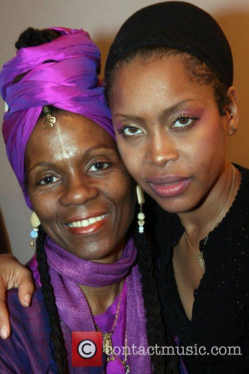 Queen Afua and Erykah Badu 2