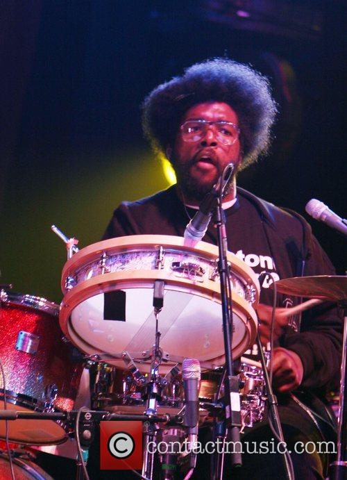 Questlove of The Roots performing performing live at...