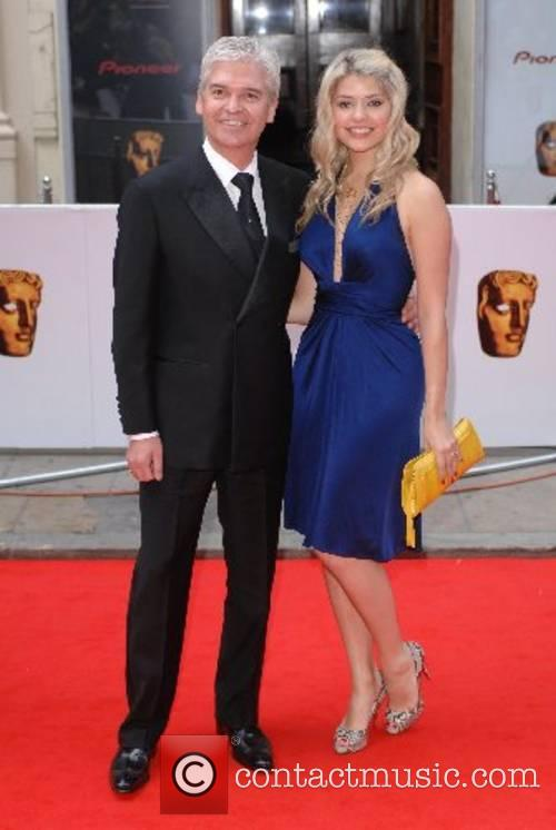 Phillip Schofield, Holly Willoughby 2007 British Academy Television...