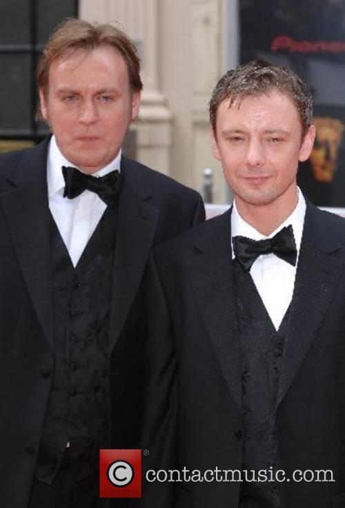 Philip Glenister and John Simm 2007 British Academy...