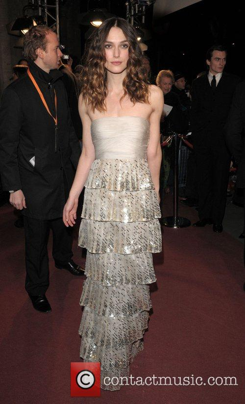 Keira Knightley and British Academy Film Awards 2008 2