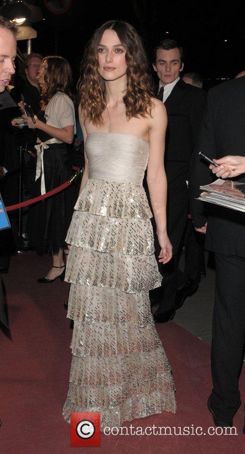 Keira Knightley and British Academy Film Awards 2008 3
