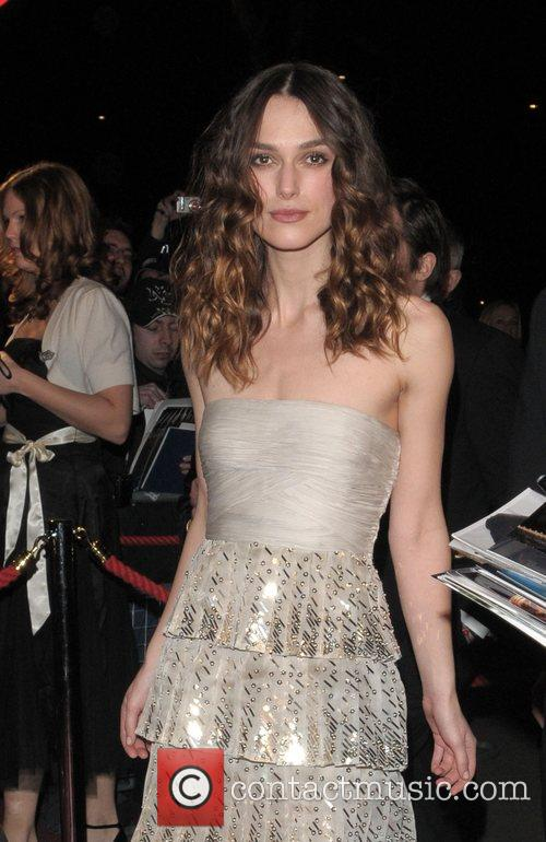 Keira Knightley and British Academy Film Awards 2008 1