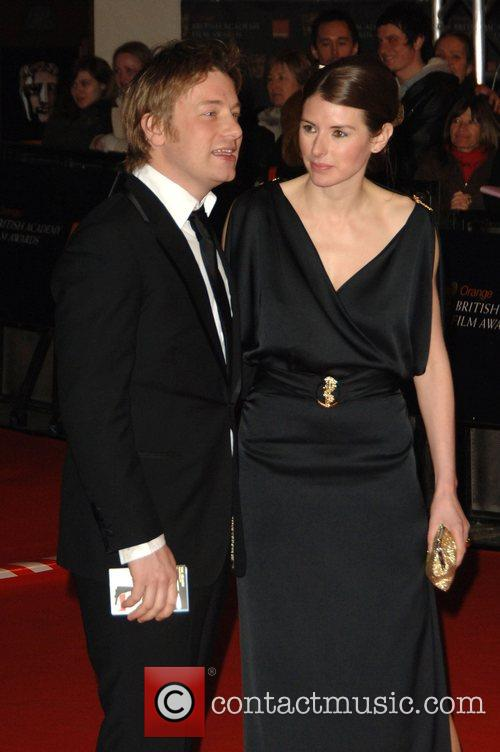 Jamie Oliver, Jools Oliver and British Academy Film Awards 2008 8