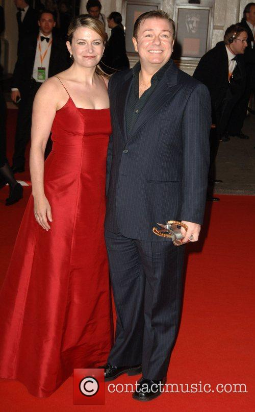 Ricky Gervais and British Academy Film Awards 2008 11