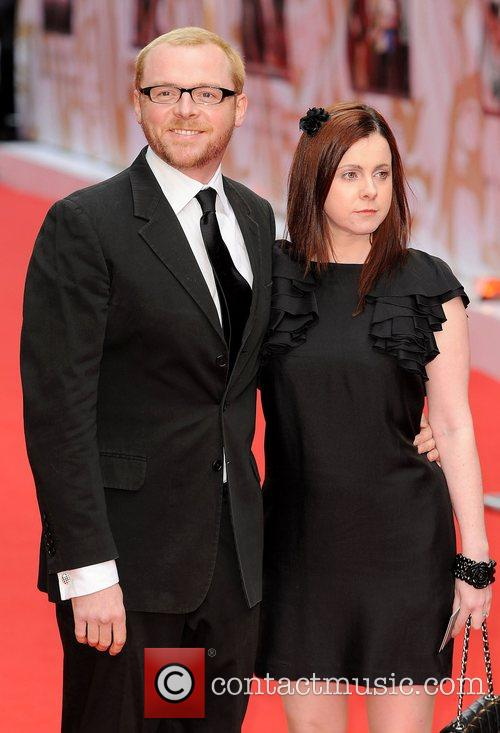 Simon Pegg, British Academy Television Awards, London Palladium, BAFTA