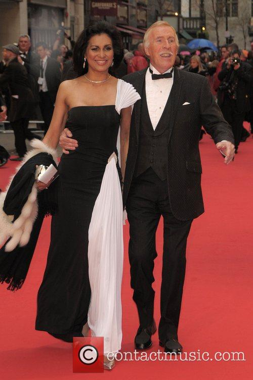 Bruce Forsyth at British Academy Television Awards (BAFTA)...