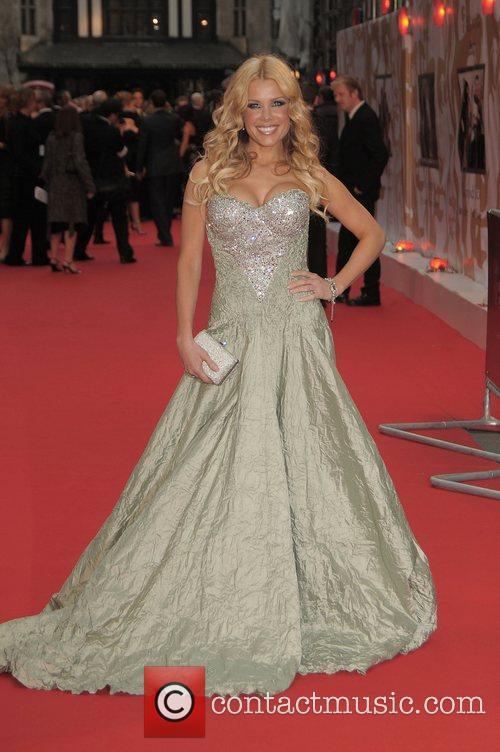 Melinda Messenger, British Academy Television Awards, London Palladium, BAFTA